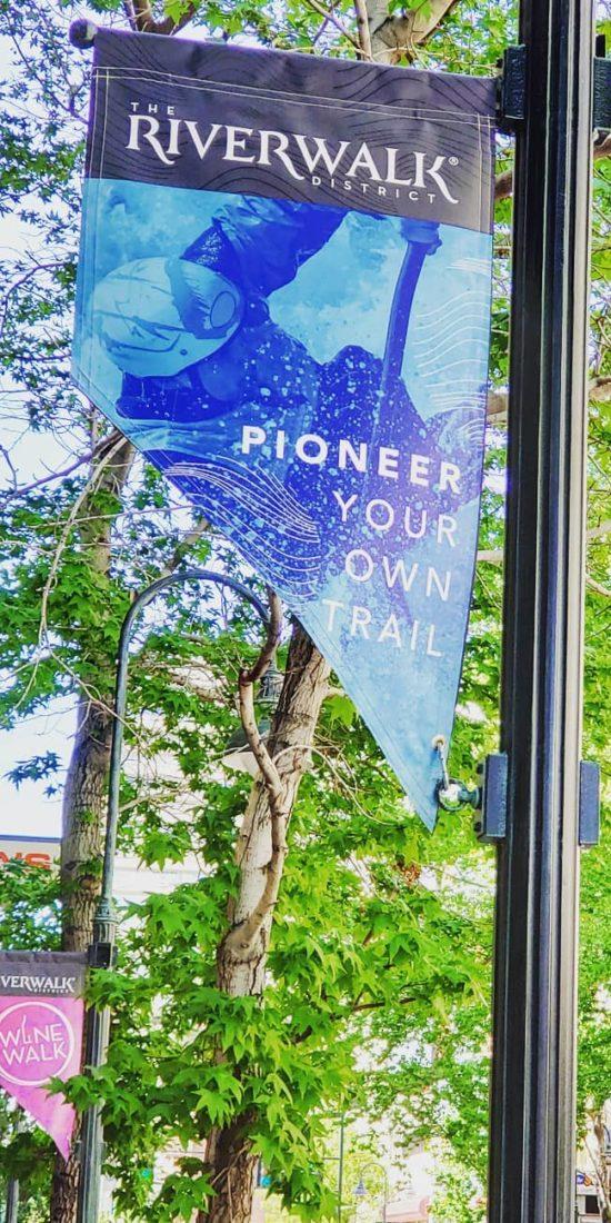 Riverwalk District Banner