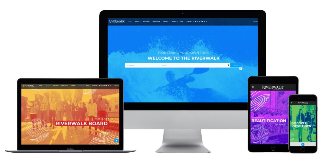 Riverwalk Website