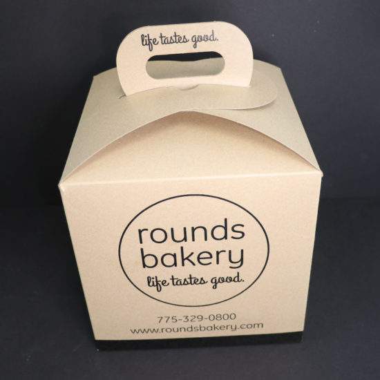 Rounds Bakery Bagel Box