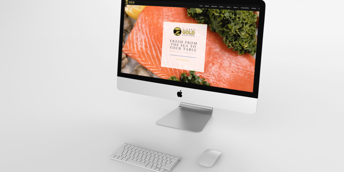 Sierra Gold Seafood Website