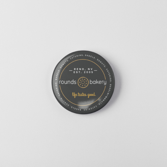 Rounds Bakery Button