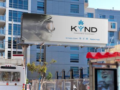 KYND Cannabis Billboard