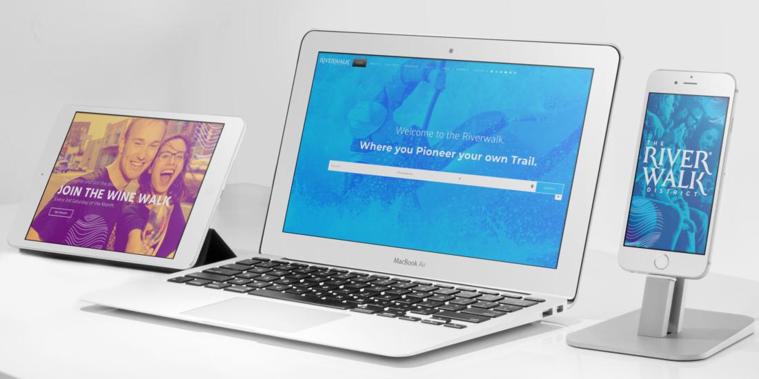 Riverwalk District Website