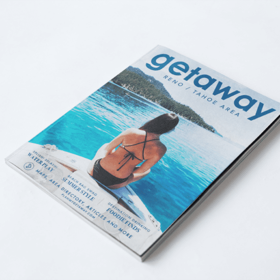 Getaway Reno/Tahoe Magazine Cover