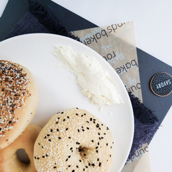 Rounds Bakery Bagels & Food Paper