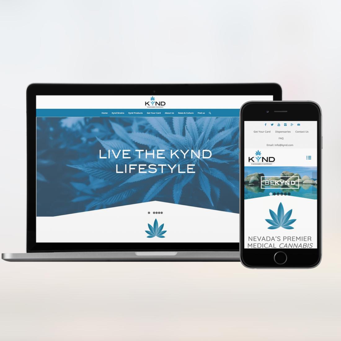 Kynd Cannabis Website