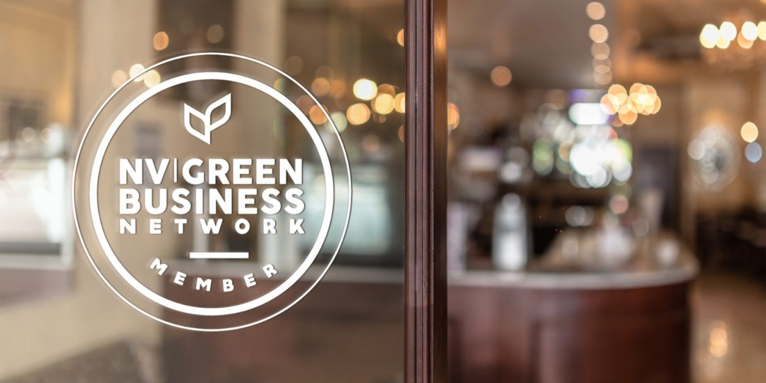 NV Green Business Decal
